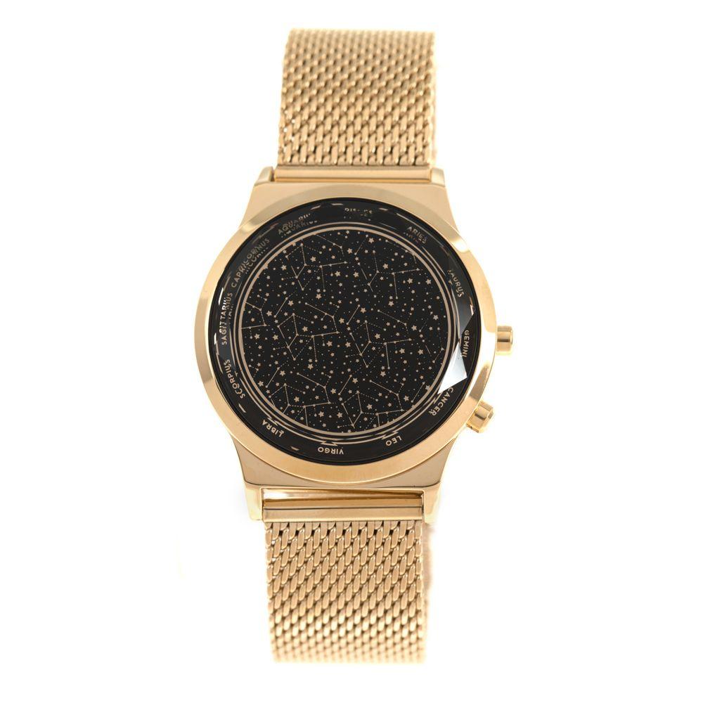 Relógio Digital Feminino Chilli Beans Signos Doze Casas Dourado RE.MT.0938-0121