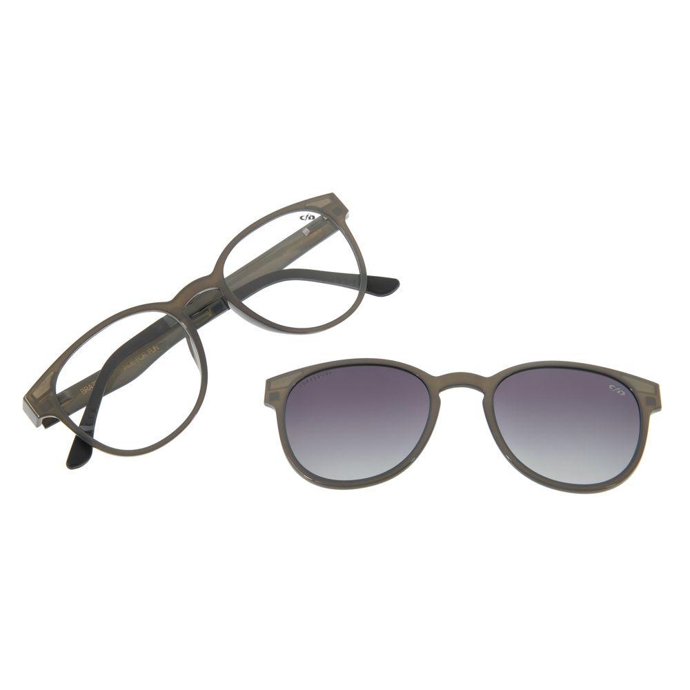 Armação Para Óculos Grau Feminino Chilli Beans Multi Cinza LV.MU.0020-2004