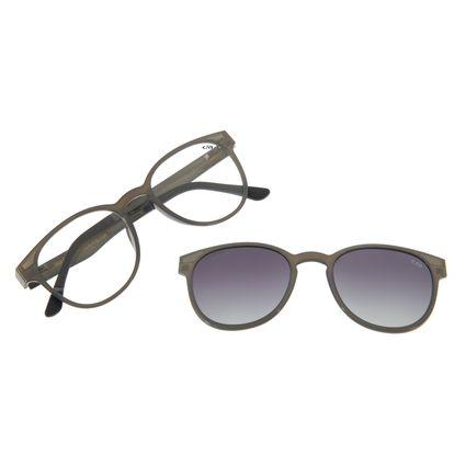 Armação Para Óculos Grau Feminino Chilli Beans Multi Cinza Polarizado LV.MU.0020-2004