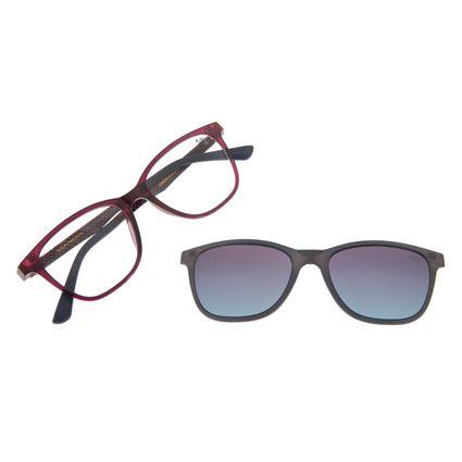 Armação Para Óculos Grau Feminino Chilli Beans Multi Roxo Polarizado LV.MU.0252-2014