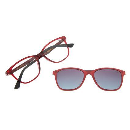 Armação Para Óculos Grau Feminino Chilli Beans Multi Vinho Polarizado LV.MU.0252-2017