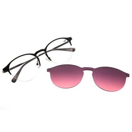 Armação Para Óculos De Grau Feminino Chilli Beans Multi Preto Signos Lua LV.MU.0315-2001