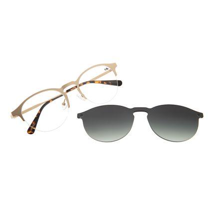 Armação Para Óculos De Grau Feminino Chilli Beans Multi Dourado Signos Lua LV.MU.0315-2021