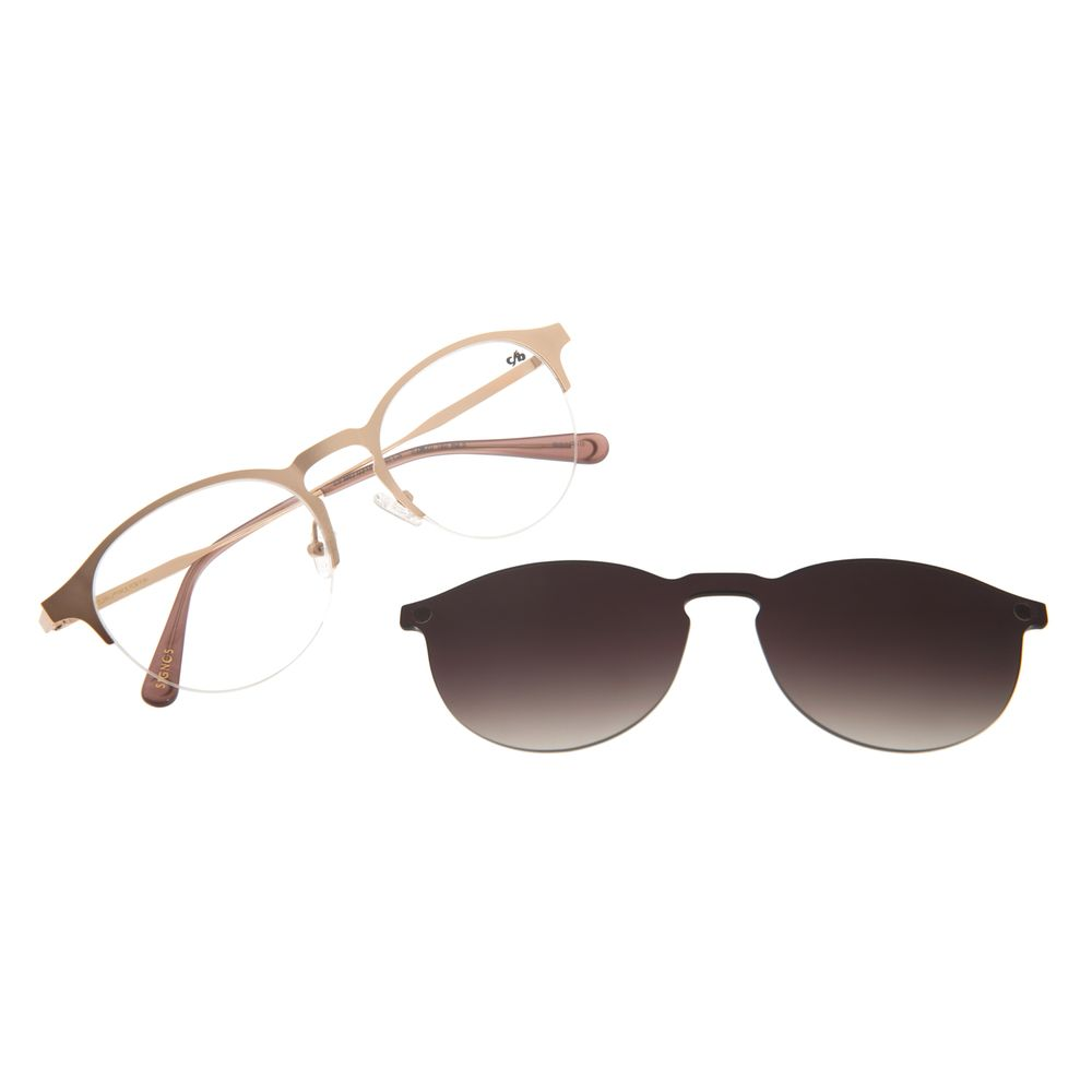 Armação Para Óculos De Grau Feminino Chilli Beans Multi Rosê Signos Lua LV.MU.0315-2095