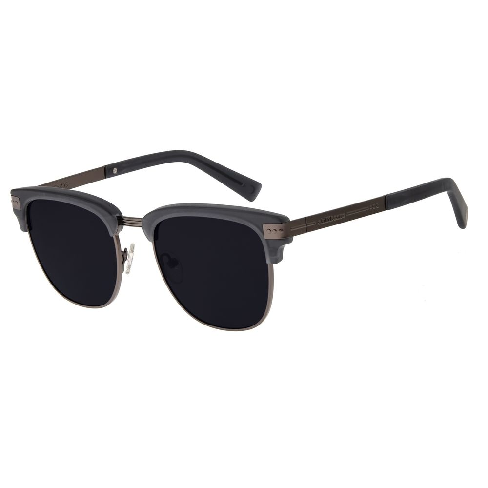 Óculos de Sol Unissex Chilli Beans Signos Sol & Lua Cinza OC.CL.2896-0104