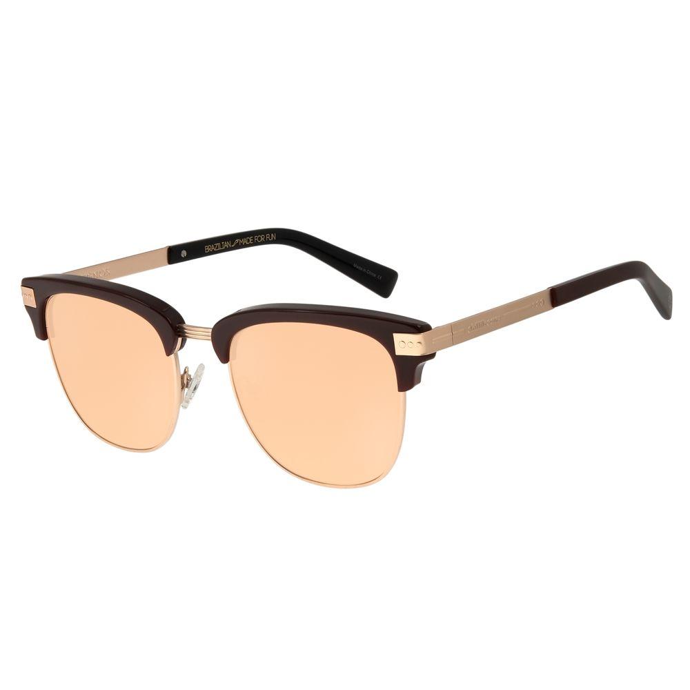 Óculos de Sol Unissex Chilli Beans Signos Sol & Lua Vinho OC.CL.2896-9517