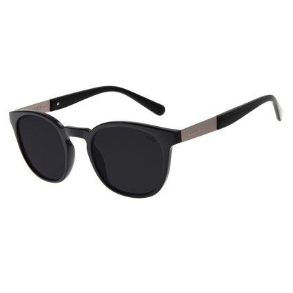 Óculos de Sol Masculino Chilli Beans Signos Câncer Preto OC.CL.2898-0101