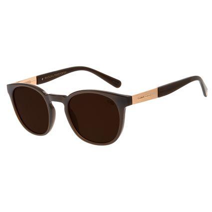 Óculos de Sol Masculino Chilli Beans Signos Escorpião Marrom OC.CL.2898-0202