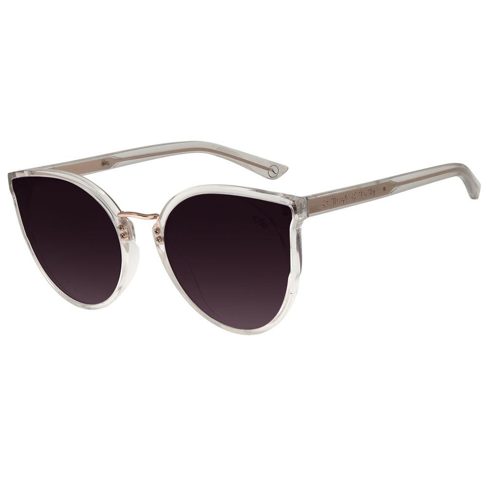 Óculos de Sol Feminino Chilli Beans Transparente Signos Doze Casas OC.CL.2899-2036