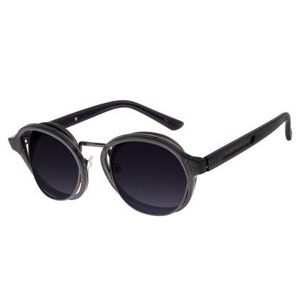 Óculos de Sol Unissex Chilli Beans Signos Doze Casas Orbital Preto OC.CL.2900-2001