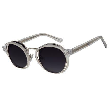 Óculos de Sol Unissex Chilli Beans Signos Doze Casas Orbital Transparente OC.CL.2900-2036