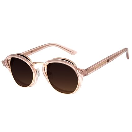 Óculos de Sol Unissex Chilli Beans Signos Doze Casas Orbital Rosa OC.CL.2900-5713