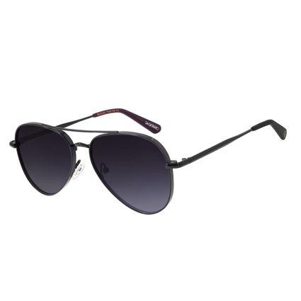 Óculos de Sol Unissex Chilli Beans Signos Sagitário Aviador Preto OC.MT.2743-2001