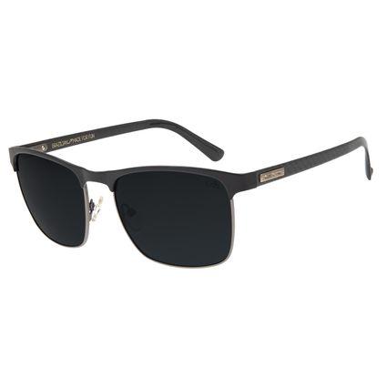 Óculos de Sol Masculino Chilli Beans Quadrado Polarizado Fosco OC.MT.2562-0131