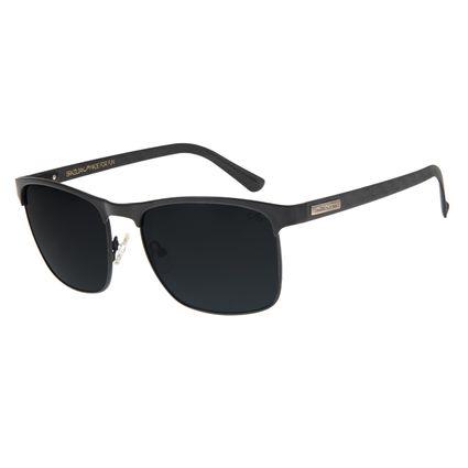 Óculos de Sol Masculino Chilli Beans Quadrado Polarizado Preto OC.MT.2562-0101