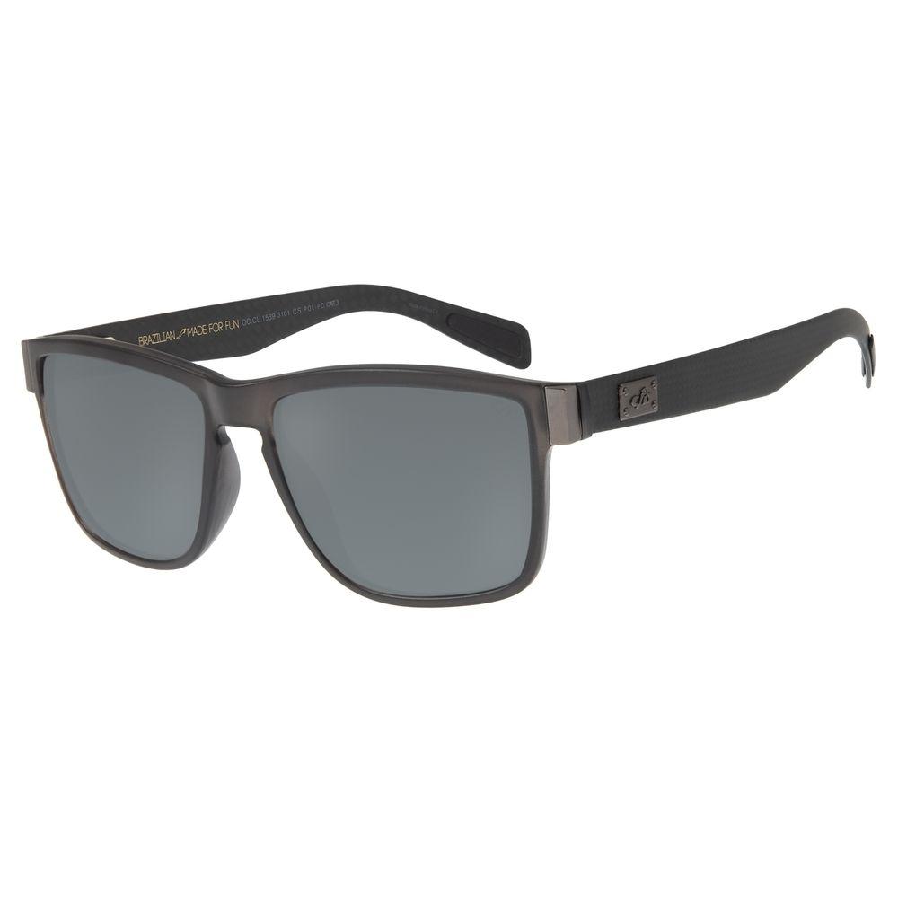 Óculos de Sol Masculino Chilli Beans Polarizado Fosco OC.CL.1539-3101
