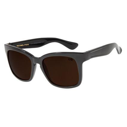 Óculos de Sol Feminino Chilli Beans Quadrado Marrom OC.CL.2200-0230