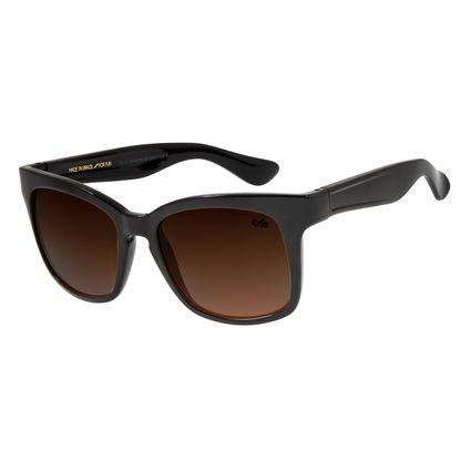 Óculos de Sol Feminino Chilli Beans Quadrado Degradê Marrom OC.CL.2200-5730