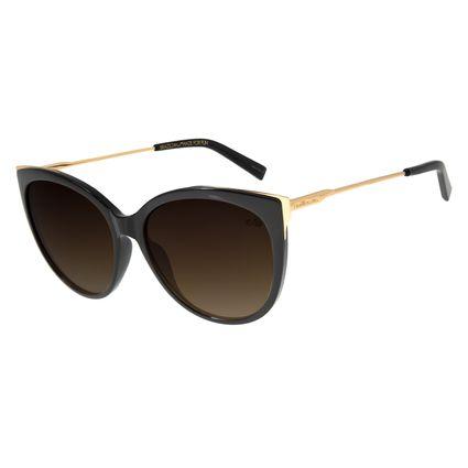 Óculos de Sol Feminino Chilli Beans Redondo Preto OC.CL.2455-5701