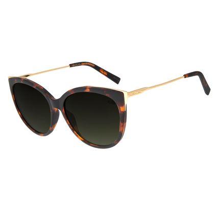 Óculos de Sol Feminino Chilli Beans Redondo Tartaruga OC.CL.2455-8206
