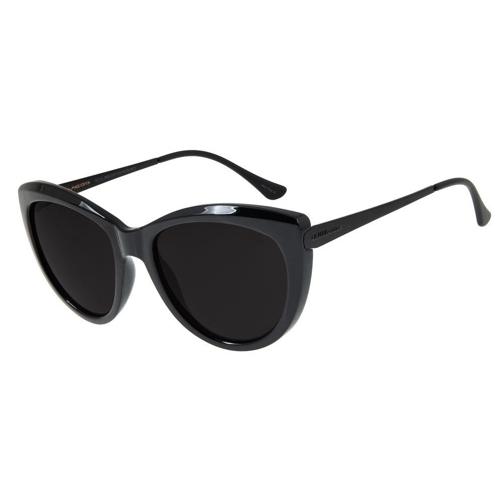 Óculos de Sol Feminino Chilli Beans Gatinho Preto OC.CL.2859-0101