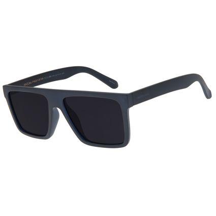 Óculos de Sol Masculino Chilli Beans Quadrado Azul Escuro OC.CL.2886.0190  OC.CL.2886-0190