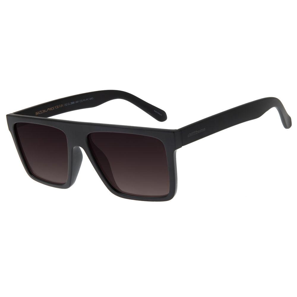 Óculos De Sol Masculino Chilli Beans Quadrado PretoOC.CL.2886-2001