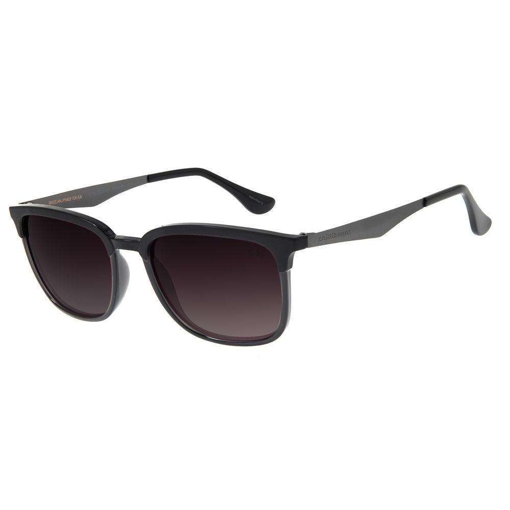 Óculos de Sol Masculino Chilli Beans Bossa Nova Polarizado Preta OC.CL.2902-2001
