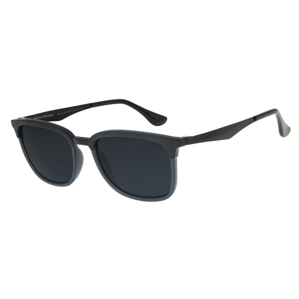 Óculos de Sol Masculino Chilli Beans Bossa Nova Polarizado Fosco OC.CL.2902-0131