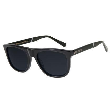Óculos de Sol Masculino Chilli Beans Bossa Nova Polarizado Preto OC.CL.2904-0101