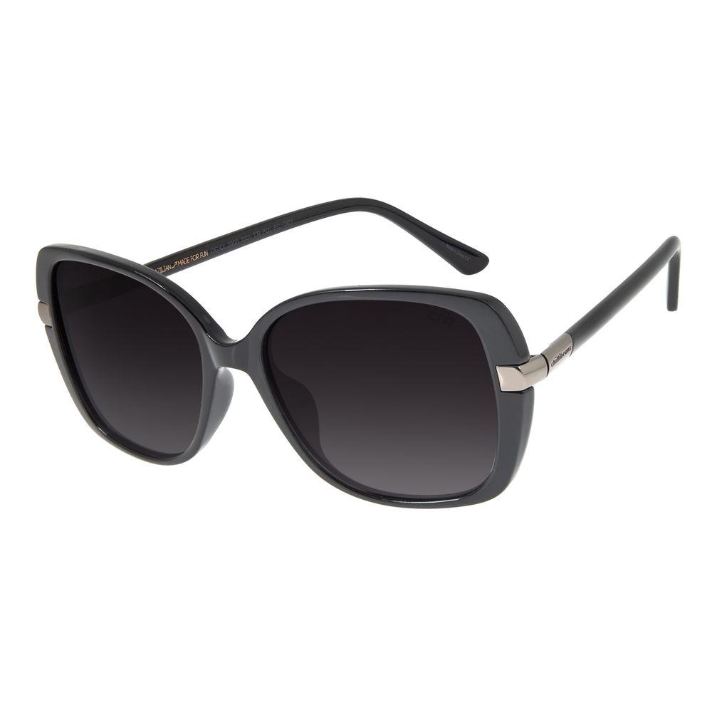 Óculos de Sol Feminino Chilli Beans Quadrado Preto Polarizado OC.CL.2905-2001