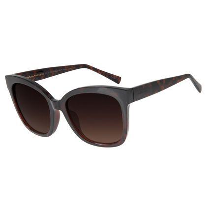 Óculos de Sol Feminino Chilli Beans Quadrado Tartaruga OC.CL.2934-5706