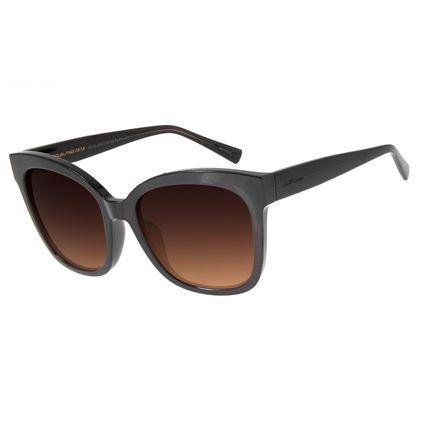 Óculos de Sol Feminino C hilli Beans Quadrado Marrom OC.CL.2934-5702