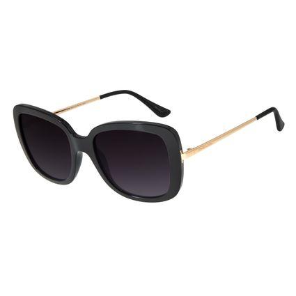 Óculos de Sol Feminino Chilli Beans Quadrado Classic Preto OC.CL.2936-2001
