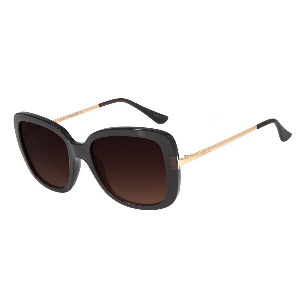 Óculos de Sol Feminino Chilli Beans Quadrado Classic Marrom OC.CL.2936-5702
