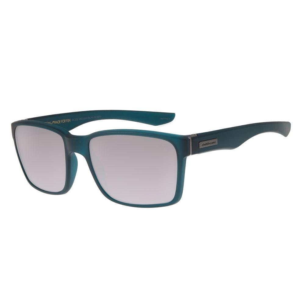 Óculos de Sol Masculino Chilli Beans New Sport Azul OC.ES.1202-0008