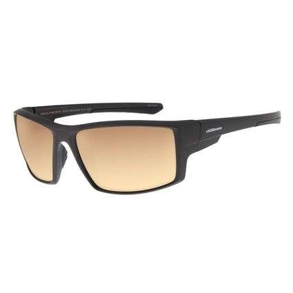 Óculos de Sol Masculino Chilli Beans Dourado Esportivo OC.ES.1205-2102