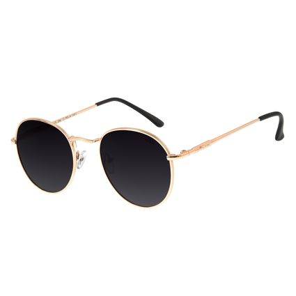 Óculos de Sol Unissex Chilli Beans Redondo Degradê Polarizado OC.MT.2679-2095