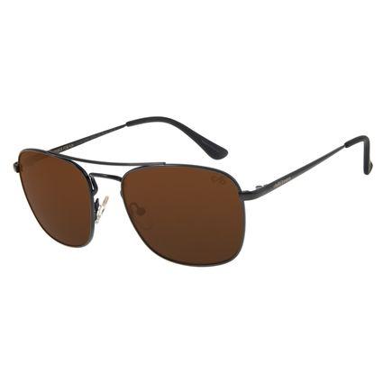 Óculos de Sol Masculino Chilli Beans Executivo Marrom OC.MT.2731-0201