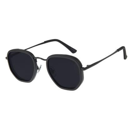 Óculos de Sol Masculino Chilli Beans Quadrado Preto Back To Basics OC.MT.2751-0101