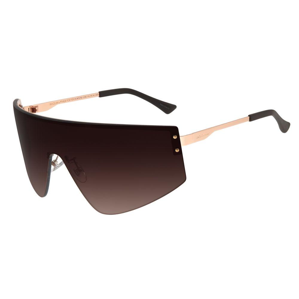 Óculos de Sol Feminino Chilli Beans Máscara Rosê OC.MT.2752-5795
