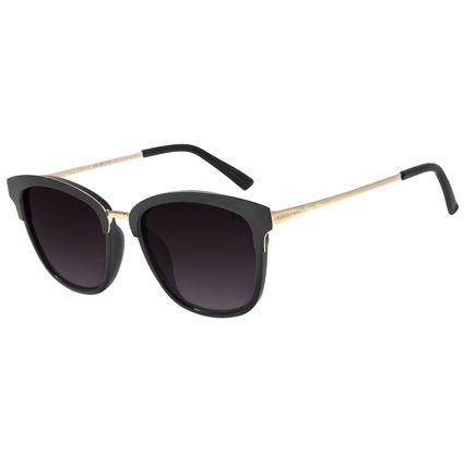 Óculos de Sol Feminino Chilli Beans Redondo Metal Preto OC.MT.2765-2001