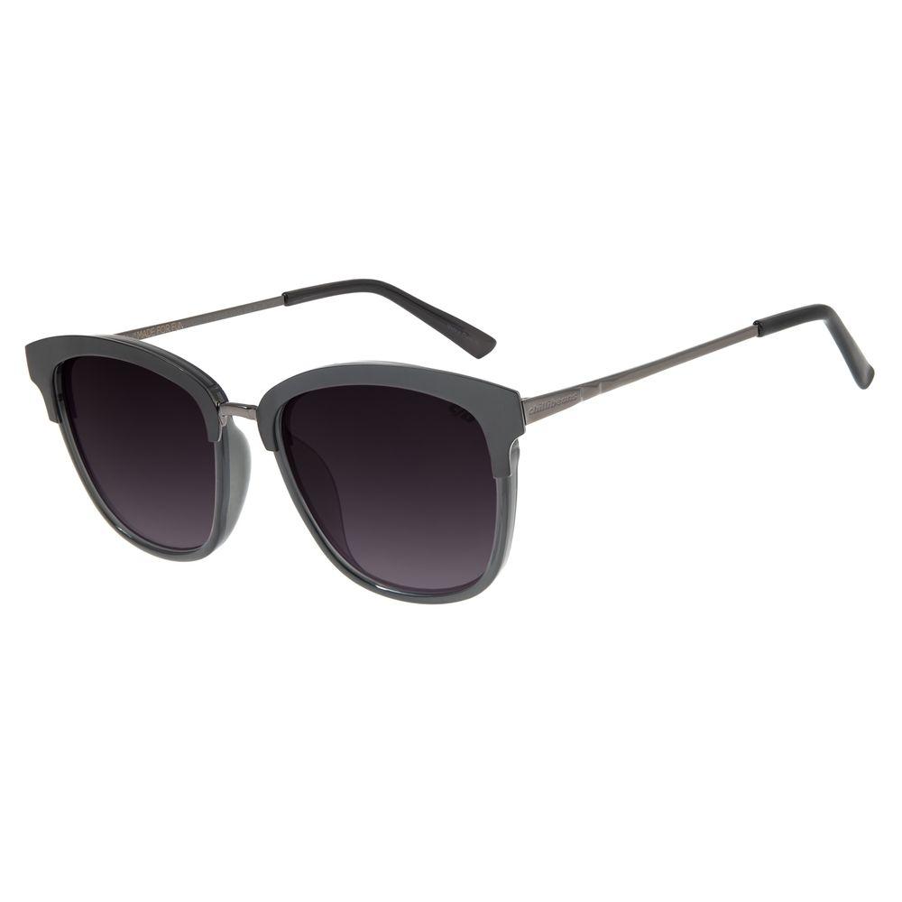 Óculos de Sol Feminino Chilli Beans Redondo Metal Ônix OC.MT.2765-2030