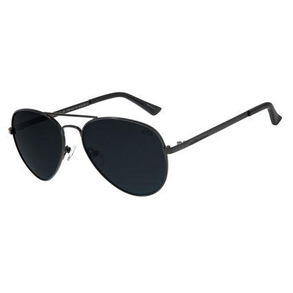 Óculos de Sol Unissex Chilli Beans Aviador Clássico Preto OC.MT.2766-0101