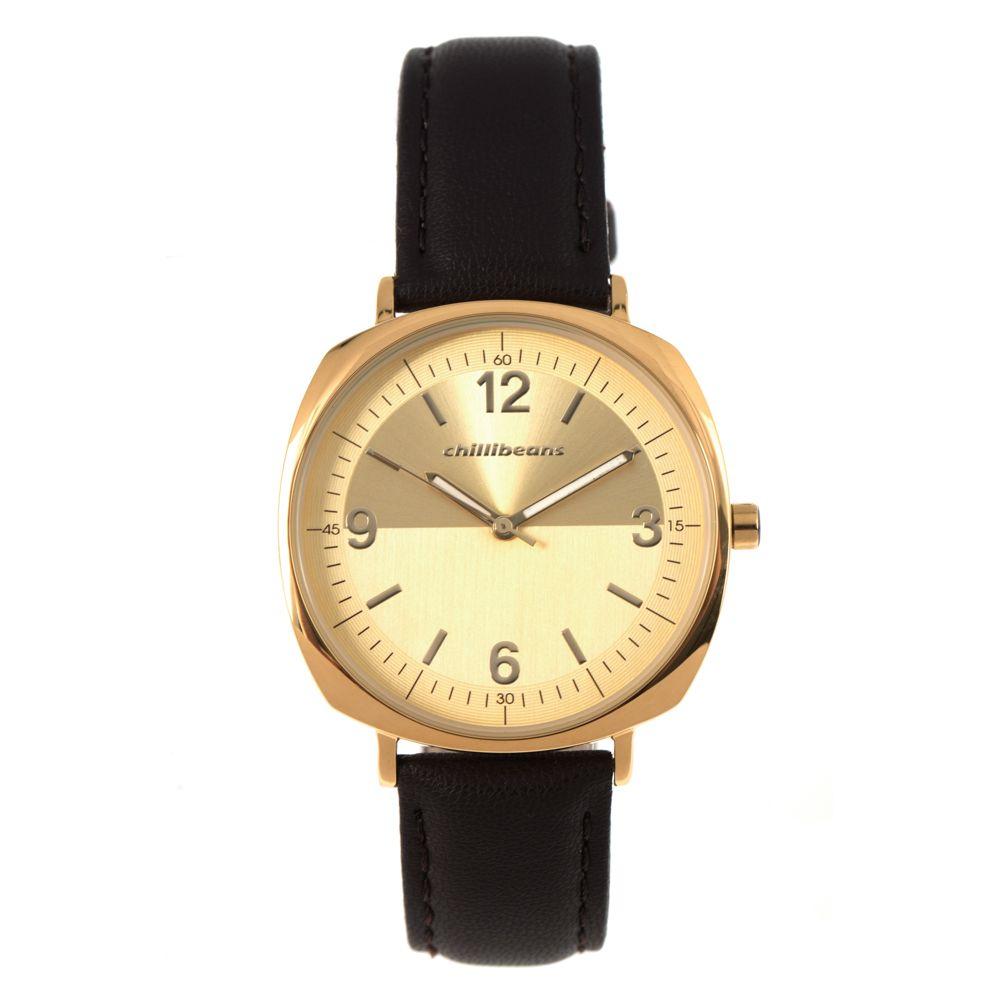 Relógio Analógico Feminino Chilli Beans Quadrado Dourado RE.CR.0386-2102