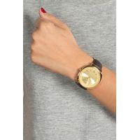 Relógio Analógico Feminino Chilli Beans Quadrado Dourado RE.CR.0386-2102.4