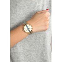 Relógio Analógico Feminino Chilli Beans Malha Metal Dourado RE.MT.0870-2121.4