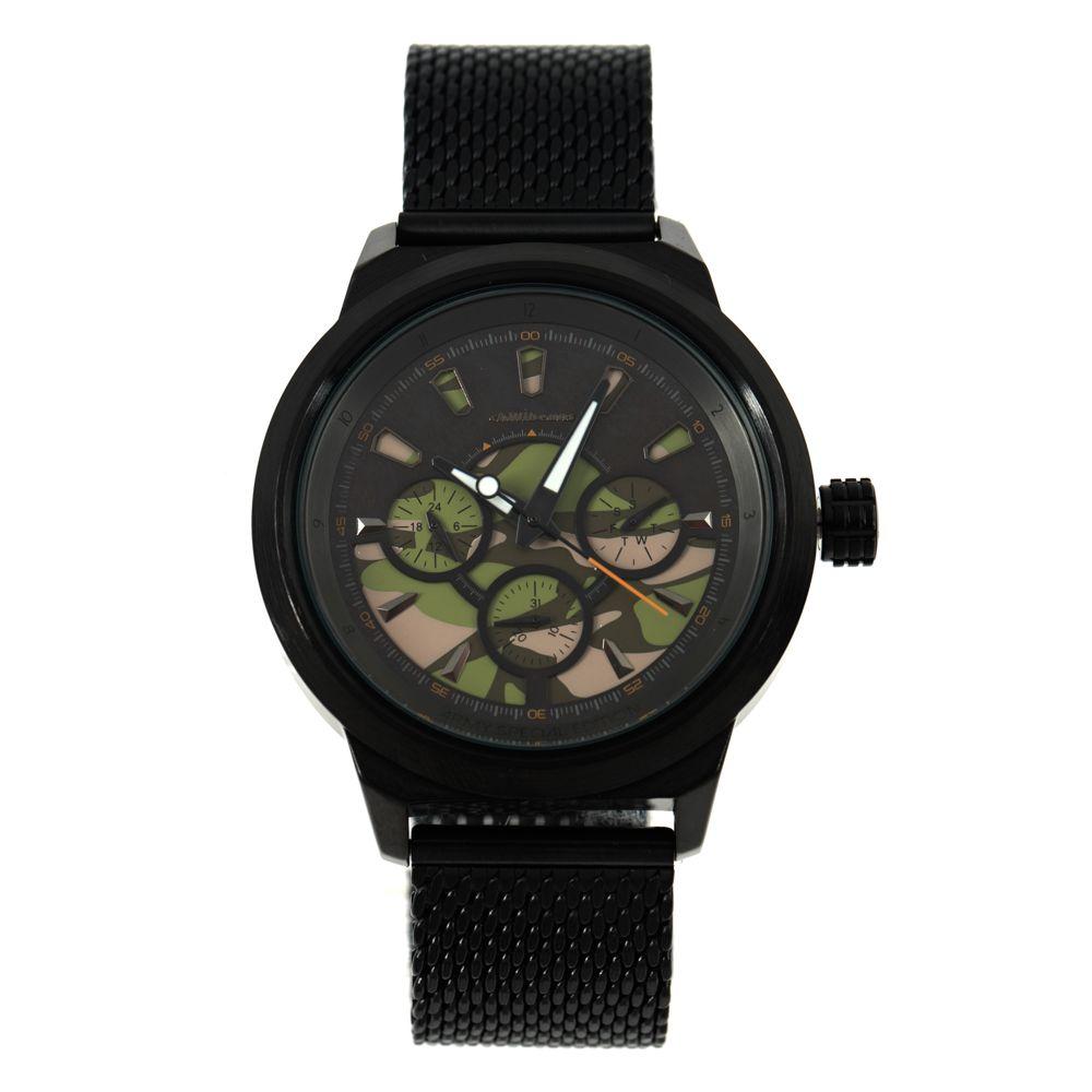 Relógio Cronógrafo Masculino Chilli Beans Army Special Edition Preto RE.MT.0885-0101