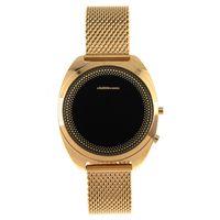 Relógio Digital Feminino Chilli Beans Metal Dourado RE.MT.0900-0121