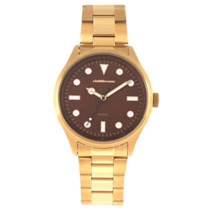 Relógio Analógico Masculino Chilli Beans Metal Rustic Dourado RE.MT.0937-0221